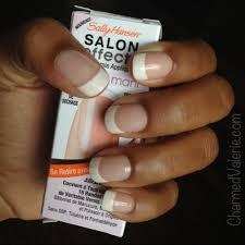 sally hansen french mani nail polish strips review charmed valerie