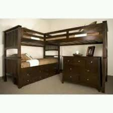 Best Triple Bunk Bed Images On Pinterest Triple Bunk Beds - Three bed bunk bed