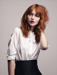 medium length fringe hairstyles 25 hairstyles for red hair for inspiration hair style