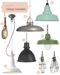 Vintage Kitchen Pendant Lights by Vintage Industrial Lighting U2013 Making It Lovely