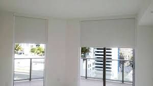 Blackout Roller Blinds With Side Channels Roller Shades Black Out Fabrics Windows Shades And Blinds In Miami