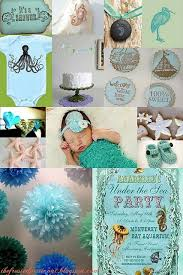 the sea baby shower ideas top 4 unique baby shower theme ideas babyfavors