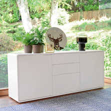White Lacquered Sideboard Matt Lacquer Sideboards Contemporary Dining Room Furniture From