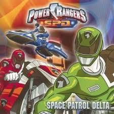 power rangers space patrol delta dalmatian press
