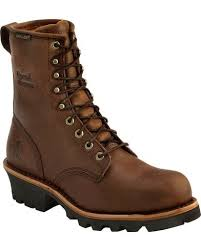womens steel toe boots near me chippewa s waterproof insulated steel toe logger boots