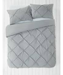 buy heart of house hadley pintuck bedding set kingsize at argos