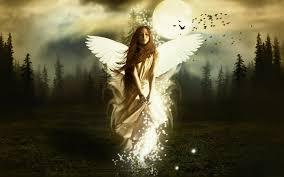 free wallpaper angel wings wallpapersafari