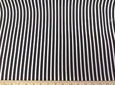 Black And White Striped Upholstery Fabric Black And White Stripe Fabric Ebay