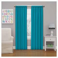 Fuschia Blackout Curtains Microfiber Blackout Curtain Panel Rich Teal 42