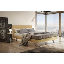 Napa Bedroom Furniture by Napa Bed With Wood Headboard By Mobican Available In Queen