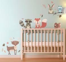 stickers pour chambre bebe stickers animaux pour chambre enfant tenstickers