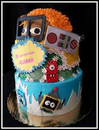 yo gabba gabba birthday cake3d cards 138 best enticing cake boutique images on cake ideas