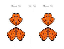 fluttering monarch butterfly