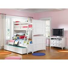 white bunk beds with stairs simple girls pink white loft bed