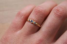 Non Traditional Wedding Rings by Color Me Green Non Traditional Non Diamond Engagement Ring Roundup