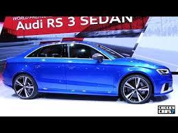 audi rs 3 sedan 2017 audi rs 3 sedan motor 2016