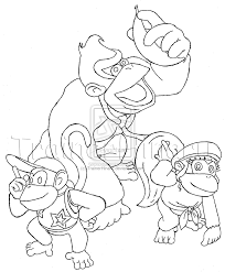 donkey kong coloring pictures free coloring pages on art