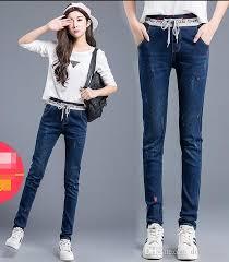 2017 middle students u0027 jeans women u0027s feet pants dress in the