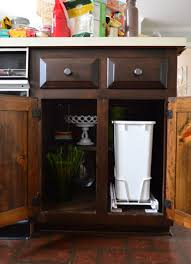 garbage can under the sink pull out garbage can under sink wonderful installing a trash young