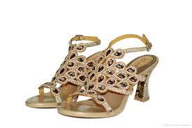 wedding shoes jeweled heels 2016 rhinestone bridal wedding shoes buckle
