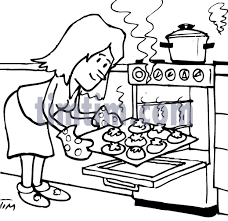 free drawing of baking bw from the category cooking food u0026 drink