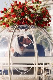 wedding wishes disney roses atop cinderella s coach at walt disney world