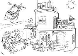 lego police coloring pages printable class crafts pinterest