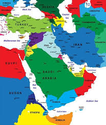 uae map map of the middle east with facts statistics and history
