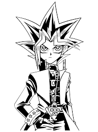 yu gi oh coloring pages clipart panda free clipart images