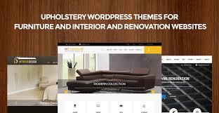 home renovation websites upholstery wordpress themes for interior renovation furniture