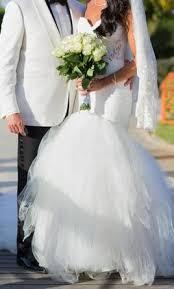 pnina tornai 4376 2 100 size 4 used wedding dresses