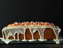 grapefruit pound cake with grapefruit glaze simply sated