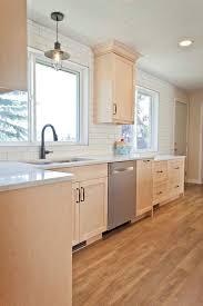 kitchen with light maple cabinets chic maple kitchen craftsman kitchen calgary