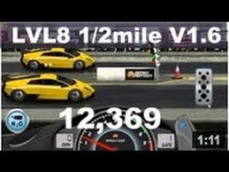 lamborghini murcielago racing drag racing level 8 lamborghini murcielago lp 670 1 2 mile tune