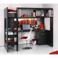 lit bureau pas cher surprenant lit mezzanine avec bureau pas cher ado enfant lovely