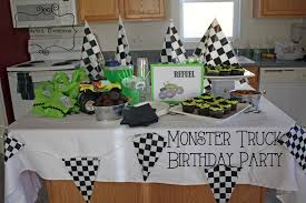 monster truck jam party supplies monster truck birthday party diy home decor and crafts