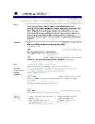 summary for resume exles profile summary of resume