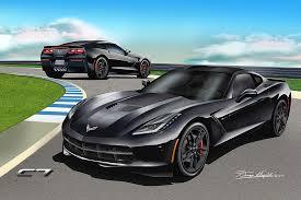 2014 corvette black chevrolet corvette coupe prints 2014 2017 by danny