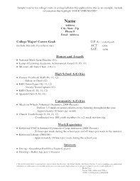 template for high resume for college admissions simply college admission high resume template resume sle