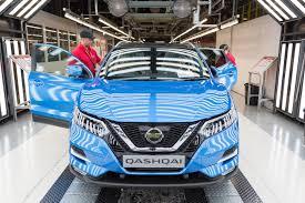 nissan qashqai on motability new qashqai enters production in europe nissan insider news