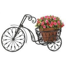 Flower Pot Holders For Fence - plant stand boy flower pot holders metal for fences with legs