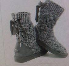 ugg womens isla boots ugg australia cotton slip on boots for ebay