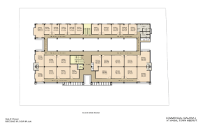 Commercial Floor Plan by Ansal Housing