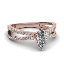 marquise diamond engagement rings princess cut accent 3 stone marquise diamond engagement ring in