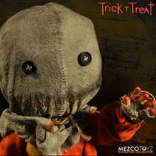 mezco 15 inch mega scale trick u0027r treat sam pre order the toyark