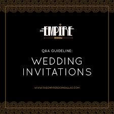 Wedding Invitations Dallas Dallas Wedding And Event Venue Blog At The Empire Room Dallas