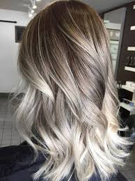 silver brown hair 15 ideas for ash blonde and silver ombre