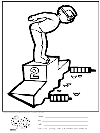 for gt olympic swimming coloring pages for swimming coloring page