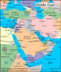 middle east map with countries map of eastern countries major tourist attractions maps