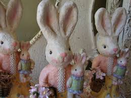 paper mache easter bunny will you be my easter bunny from ninjuliini loveitsomuch